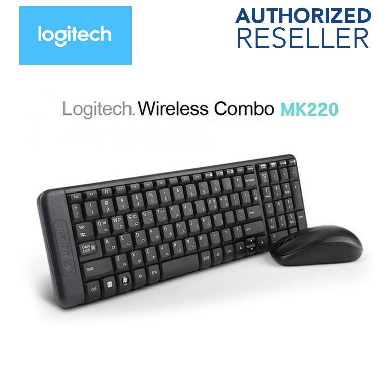 4931c859c Logitech Wireless Combo MK220 Keyboa (end 3/14/2019 6:15 PM)