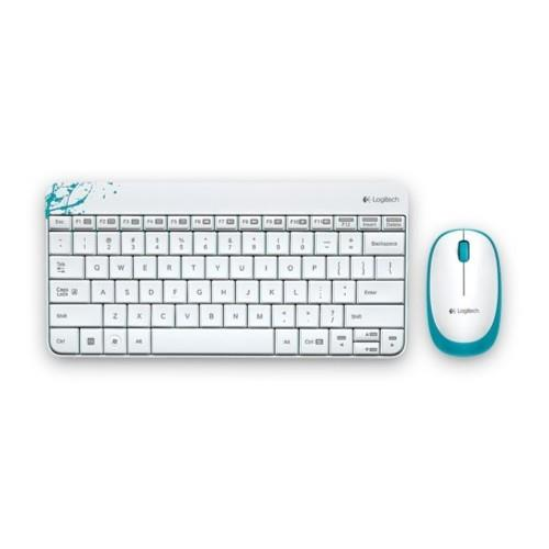 Logitech Wireless Combo - White (MK240)