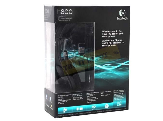 4505df97e50 LOGITECH WIRELESS HEADSET H800-AMR (end 4/18/2018 10:15 PM)