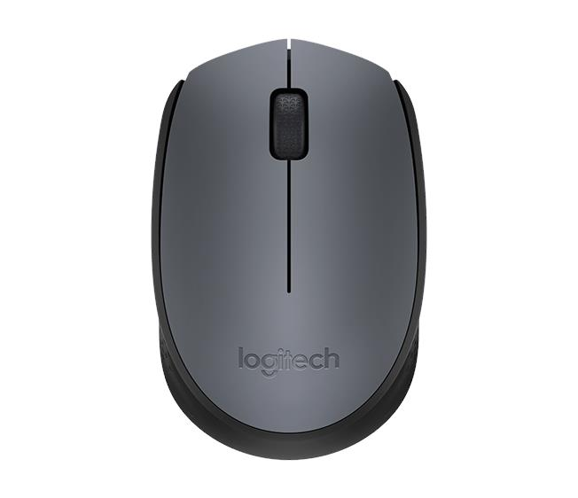 Logitech Wireless Mouse M171-Grey 910-004655