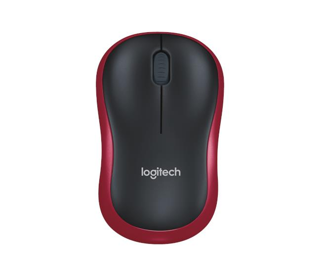 Logitech Wireless Mouse M185-Red 910-002503