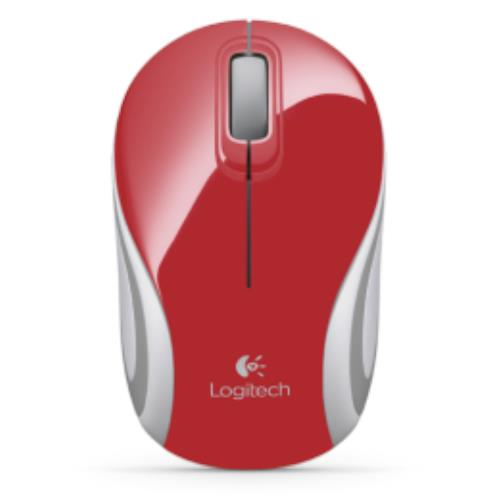 Logitech Wireless Mouse Red (M187)