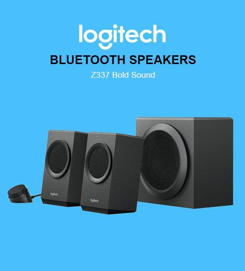 Logitech Z337 Speaker System Bold Sound Bluetooth Multimedia Speaker