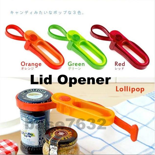 Lollipop Shade Lid Cover Cap Bottle Jar Corkscrew Opener