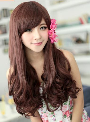 long curve mm2/rambut palsu/ready stock