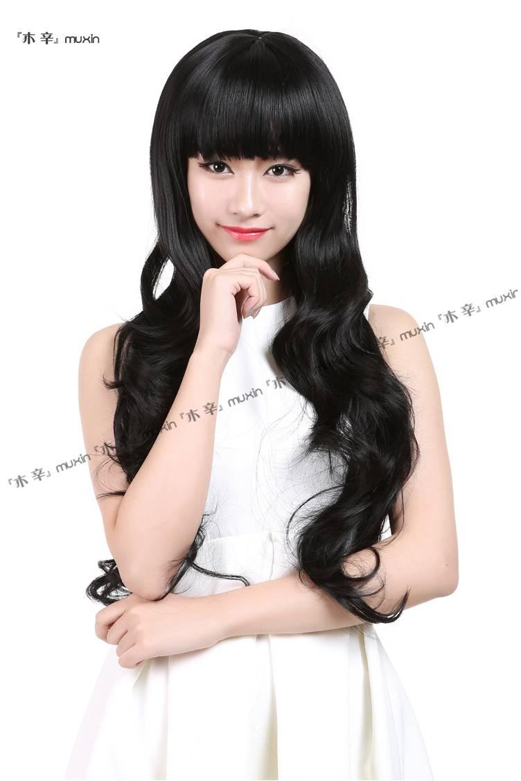 long curve wig 111/ready stock/rambut palsu