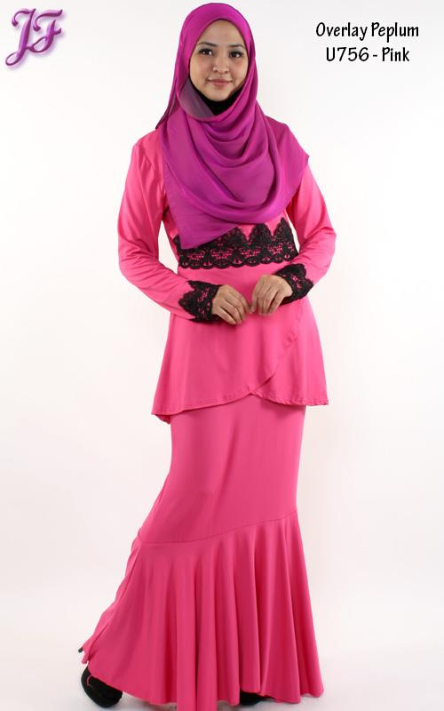 Long Sleeve Peplum Dress