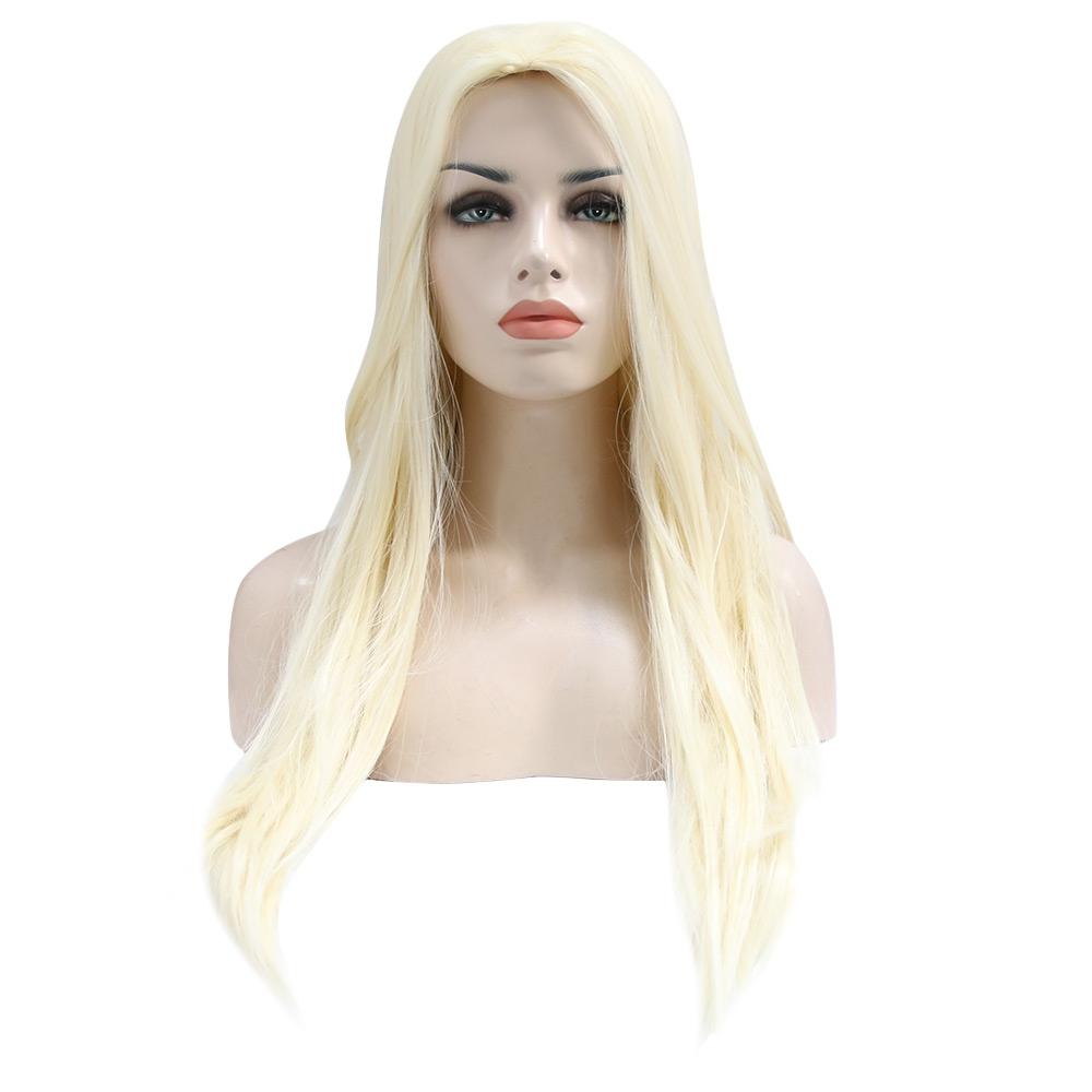 Long Straight Off-white Wigs Synthet (end 5 27 2019 2 44 PM) a76d7518e3e3