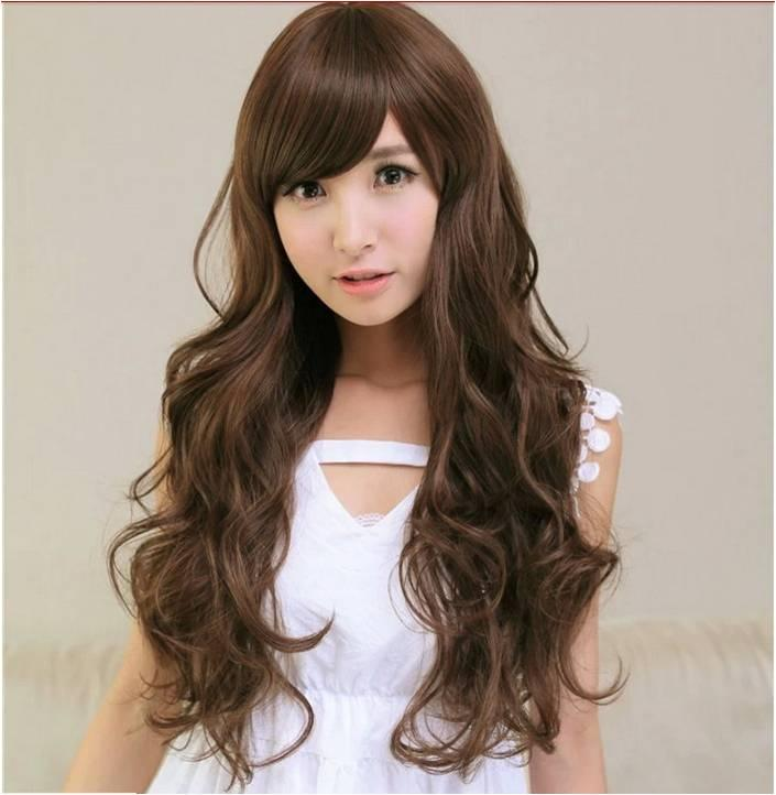 long wig*d30 ready stock-rambut palsu