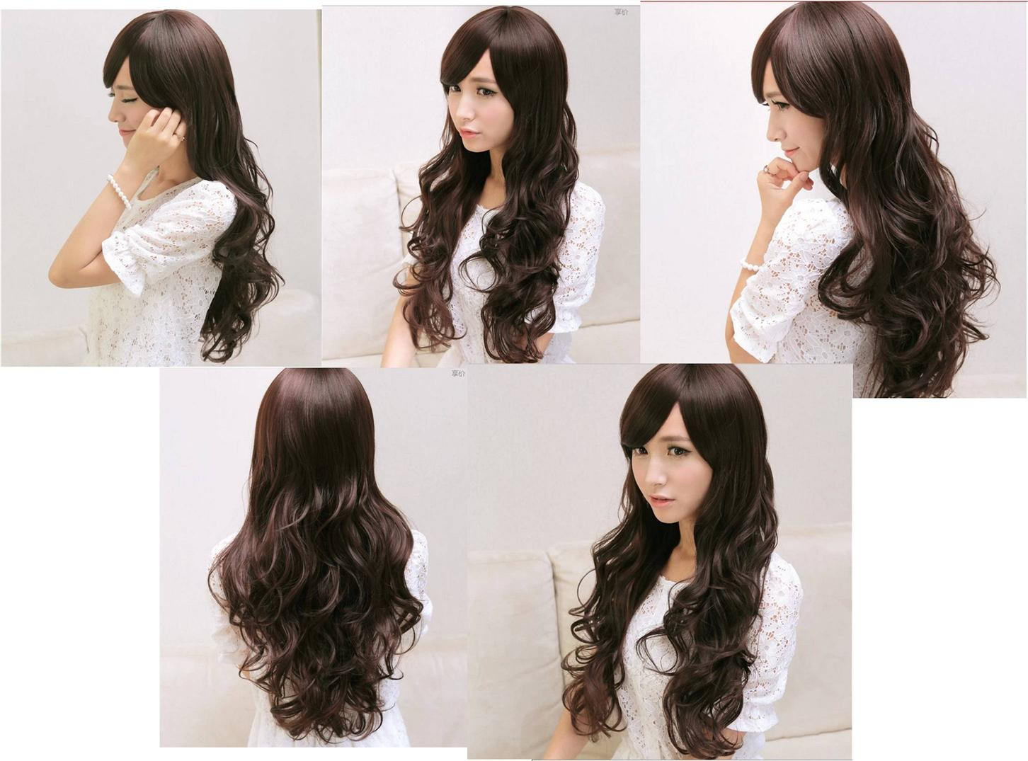 long wig* d32 ready stock-rambut palsu