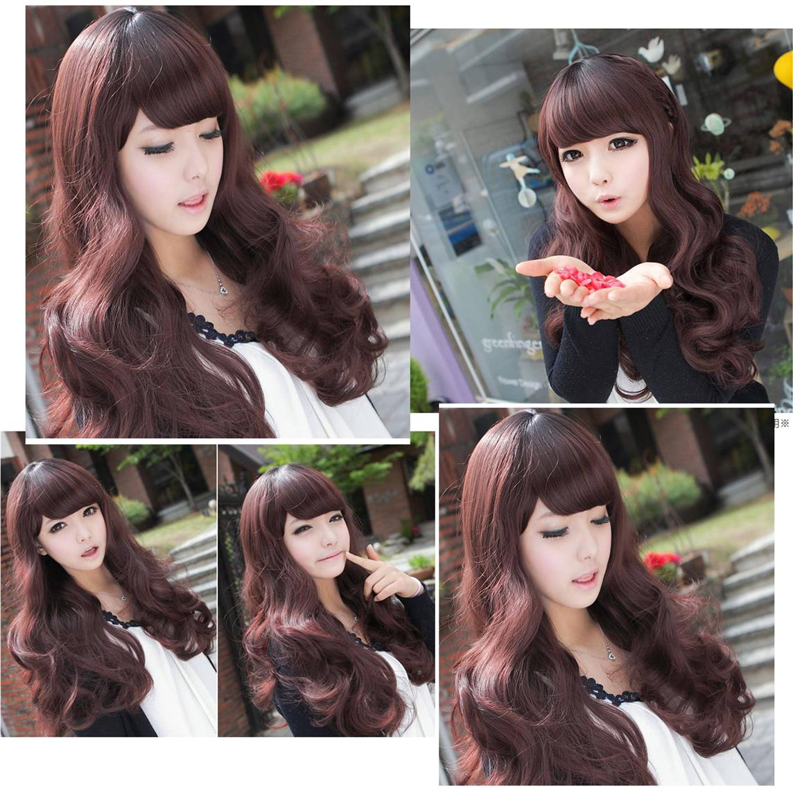 long wig e3 ready stock-rambut palsu