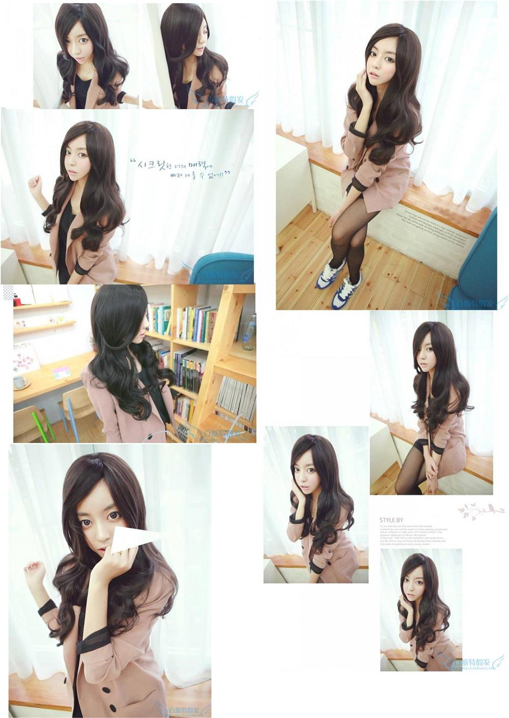 Long wig jk 11/ ready stock/rambut palsu