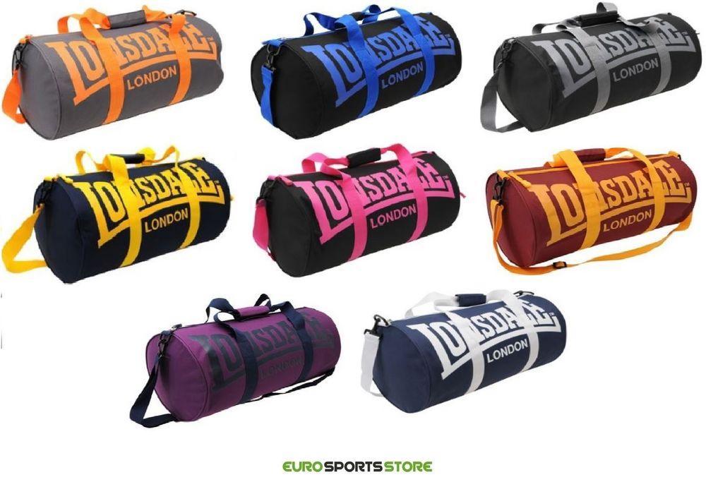 Lonsdale Fitness Gym Sport Bag UK