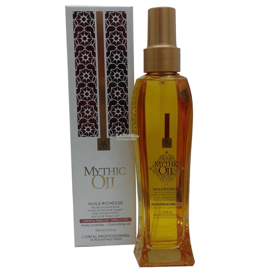 Loreal Mythic Oil Rich Oil For Unruly Hair (100ml)