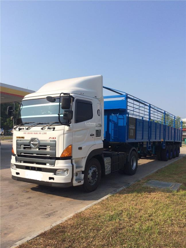 Lorry Trailer Transportation Service Peninsular Malaysia