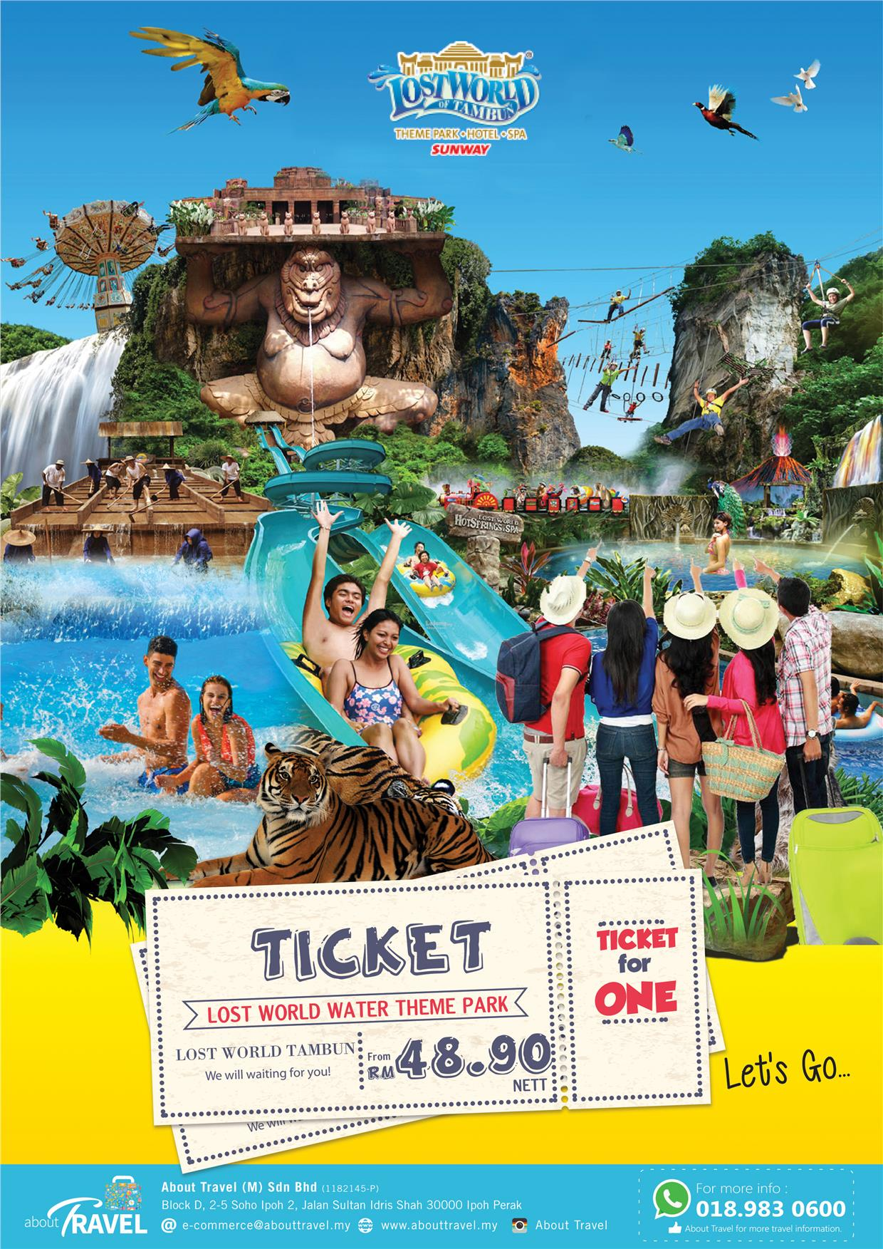 Lost world of tambun theme park tic end 5312017 1247 pm lost world of tambun theme park tickets gumiabroncs Choice Image