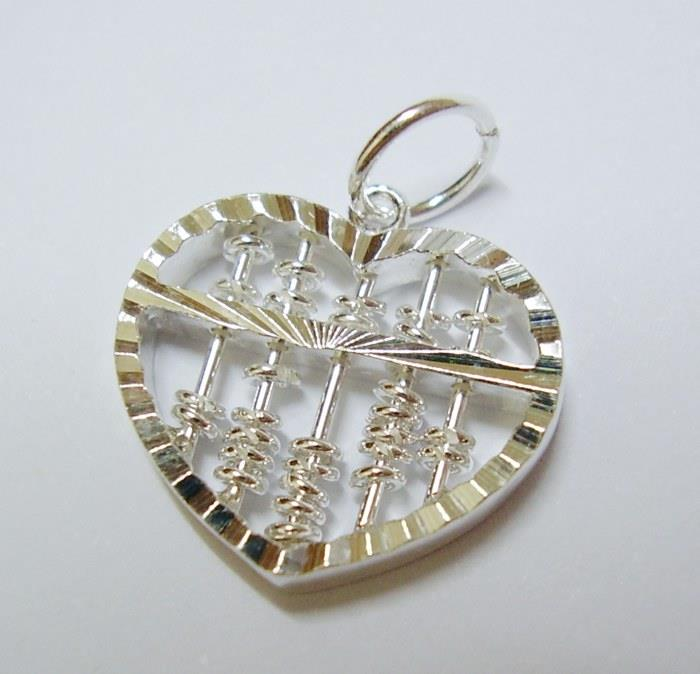 Love abacus 925 sterling silver pend end 7312018 339 pm love abacus 925 sterling silver pendant wealth sempoa fengshui money mozeypictures Gallery