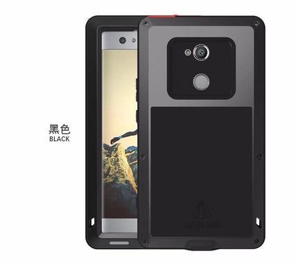 love mei Sony Xperia XA2 Ultra Armor Shockproof case casing cover