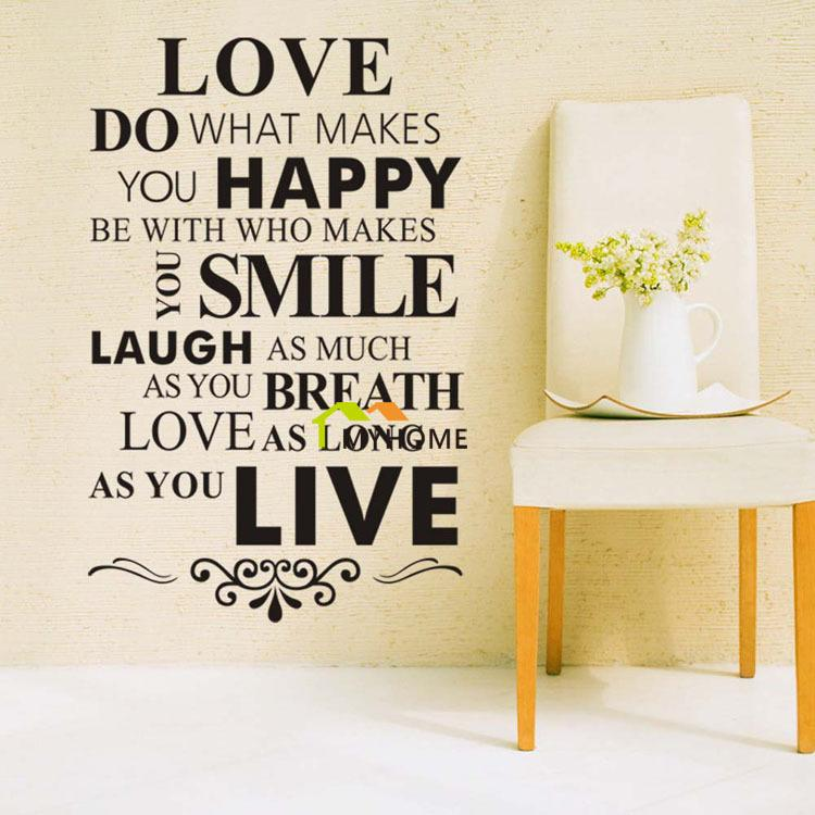 Lovewall Sticker Quotes And Saying End 952019 415 Am