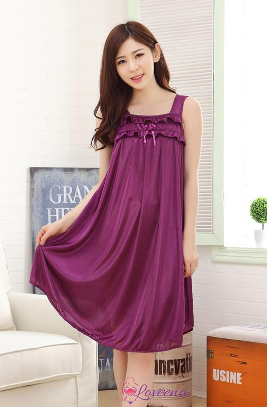 2e60f707a1 Loveena Ice Silk Nightie Sleepwear L (end 3 23 2019 2 15 PM)