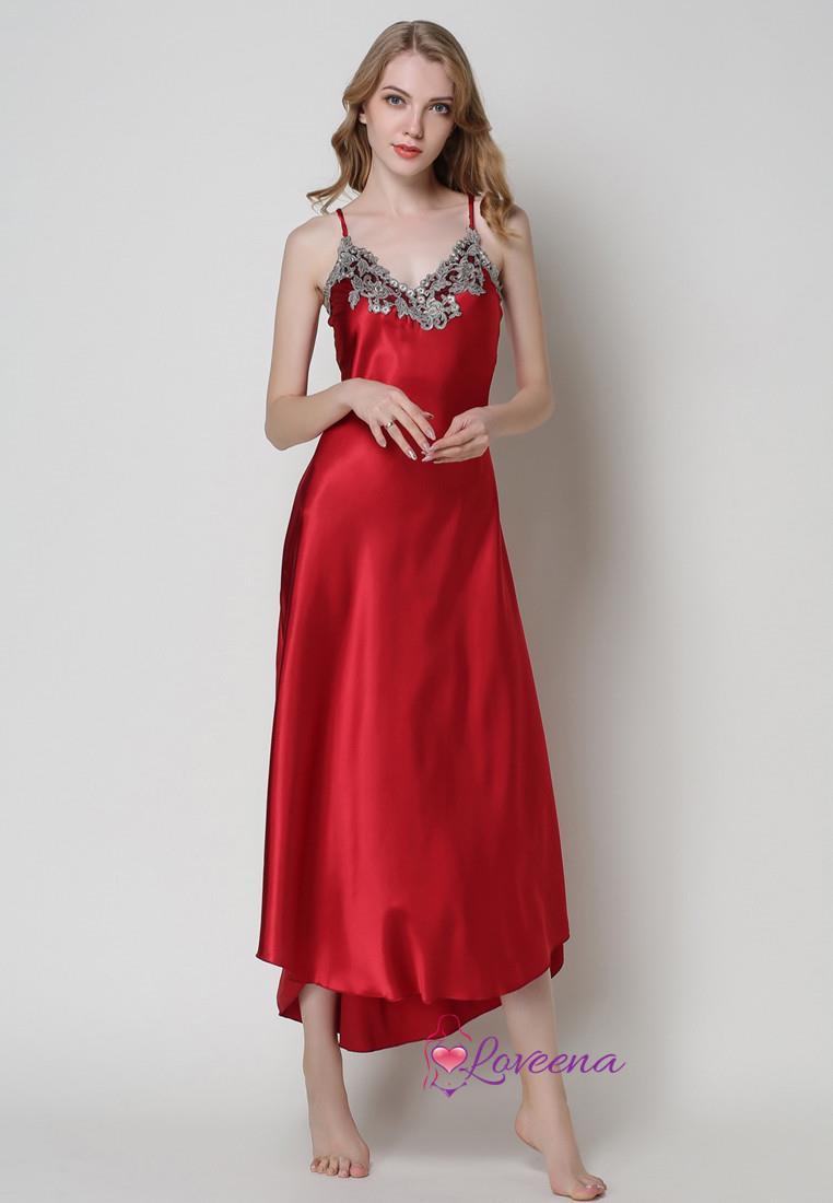 Plus Size Silk Dress