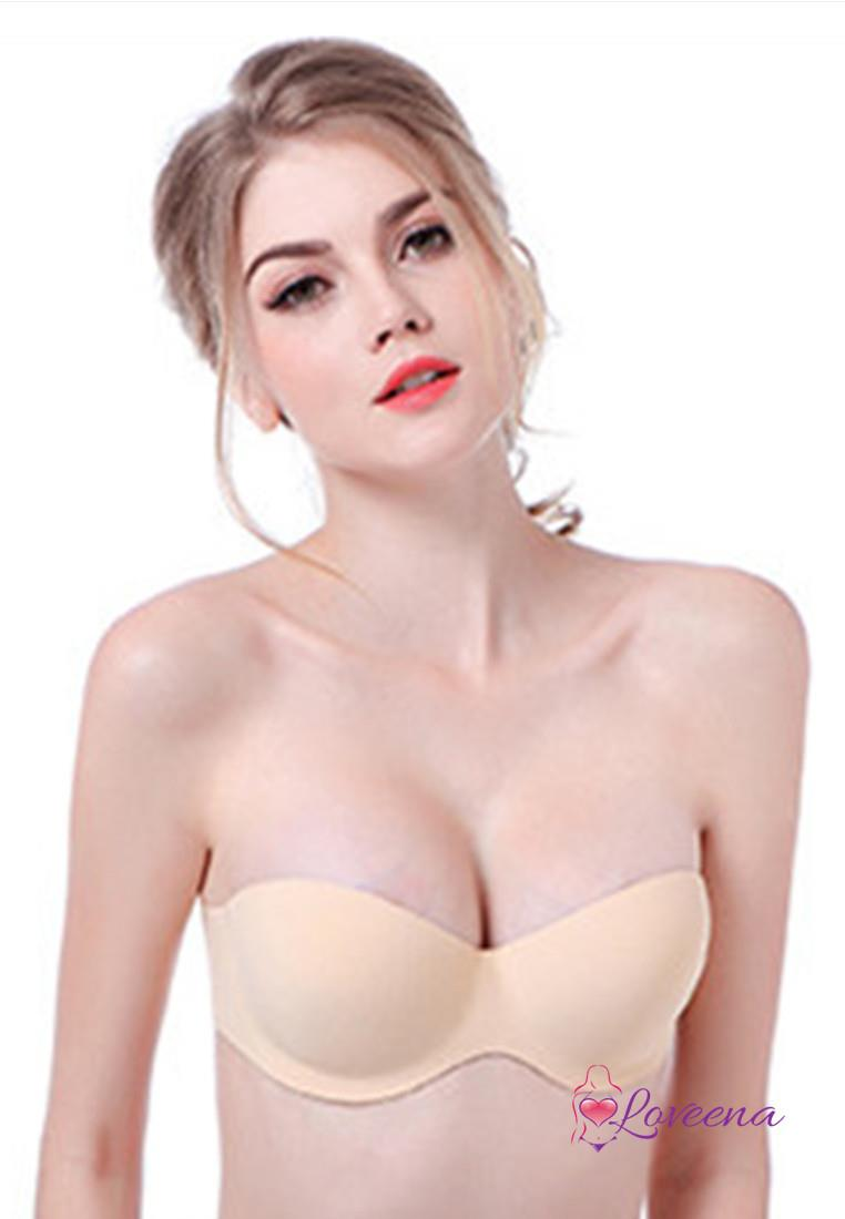 Loveena stick on strapless push up i end 7202018 515 pm loveena stick on strapless push up invisible bra b1010 bei urmus Gallery