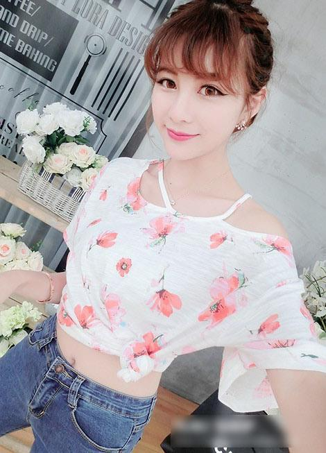 Lovely Floral Blouse (Pink)
