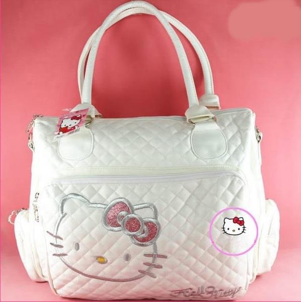 Lovely Hello Kitty Handbag Tote Shoulder Hand Bag 3 Color Available