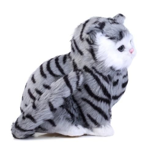 2d3fc2eed807 LOVELY SIMULATION CAT DOLL PLUSH TOY WITH SOUND BIRTHDAY CHRISTMAS GIFT FOR  KI