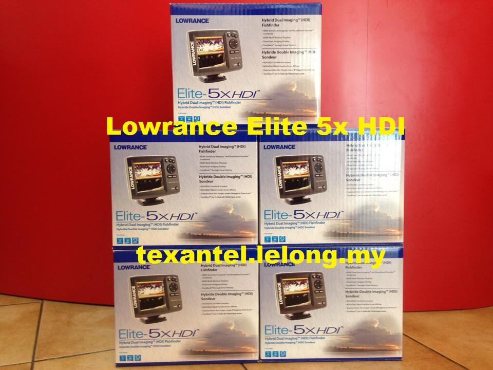how to use a lowrance elite 5x hdi