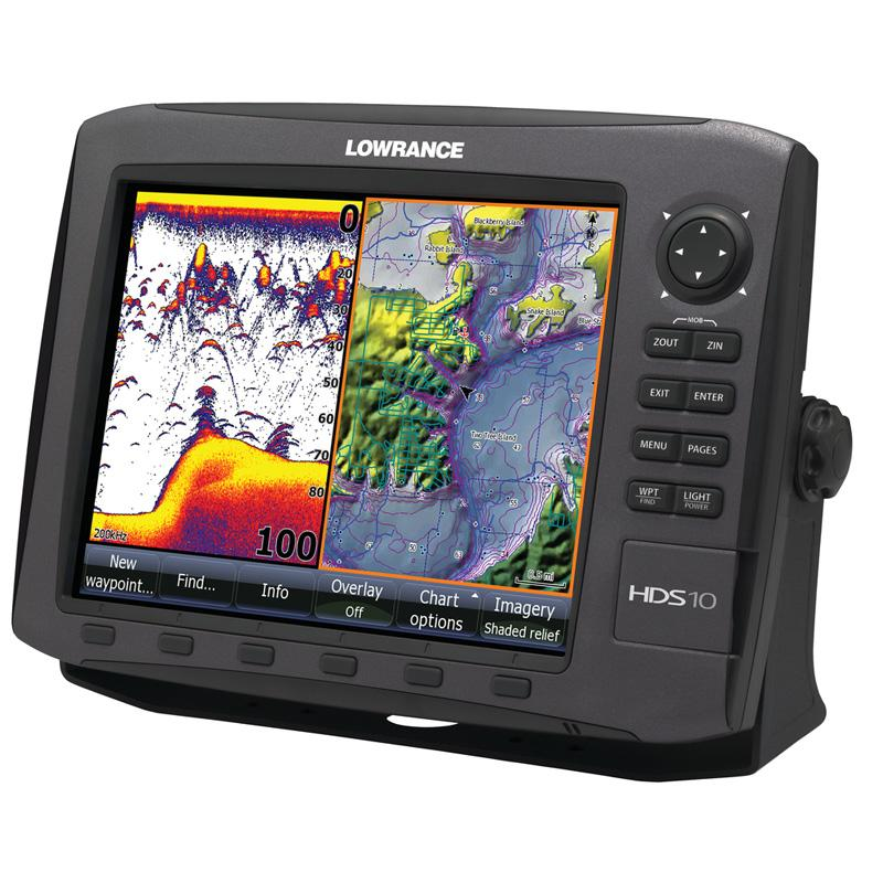 Lowrance HDS 10 Gen 2 Fishfinder and Chartplotter
