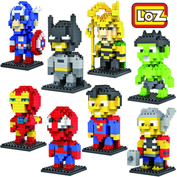 LOZ Diamond Block Toys - SuperHero Series