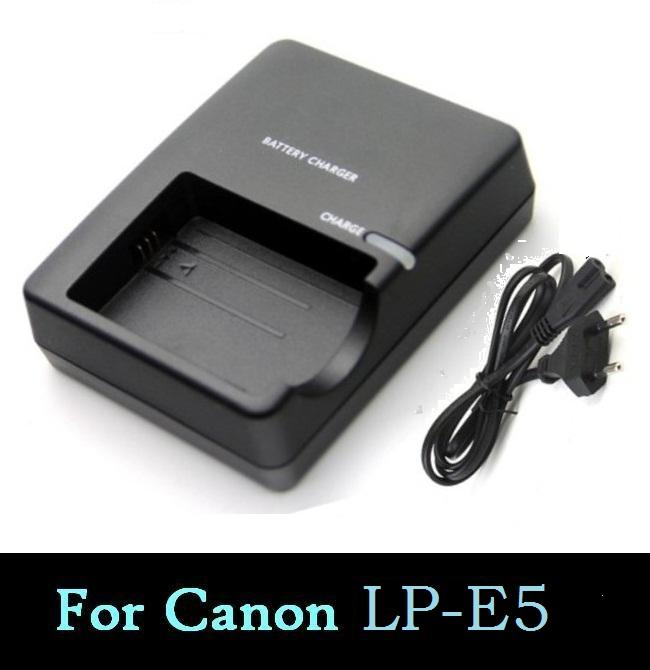 For Canon Eos 450d 500d 1000d Camera Battery Lp-e5 Charger Chargers Accessories & Parts