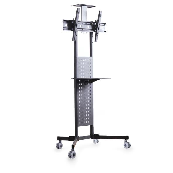 LP1800 Mobile TV Cart Workstation with Shelf & Camera Platform 1.8M
