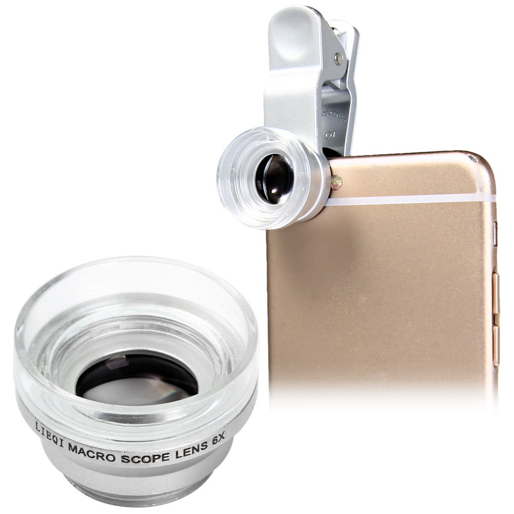 LQ - 006 MACRO 6X FIXED FOCUS MICROSCOPE MAGNIFYING CAMERA LENS FOR SMARTPHONE