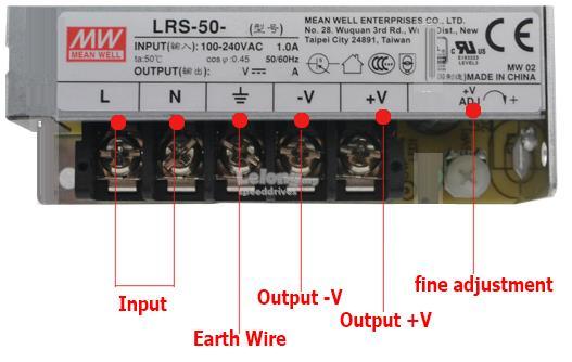 LRS-150-12 Mean Well Power Supply 150W 5V 12V 15V 24V LRS-150-48 on