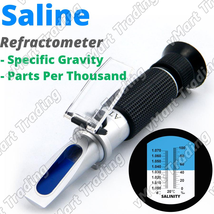 LS100T Dual Scale Salt Saline Salinity Brine Refractometer with ATC