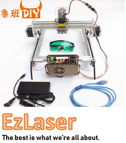 Luban DIY Laser Cut Engrave CNC 1W / 2.5W / 5.5W Machine Arcylic Wood