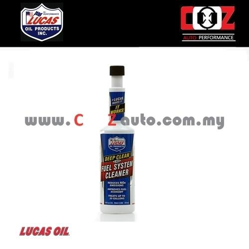 Lucas Deep Clean Fuel System Cleaner (473ml)