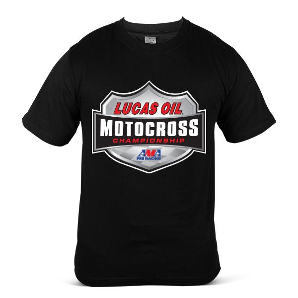 LUCAS OIL Motorcycle Motor Bike Motocross Racing Fuel Unisex T-Shirt