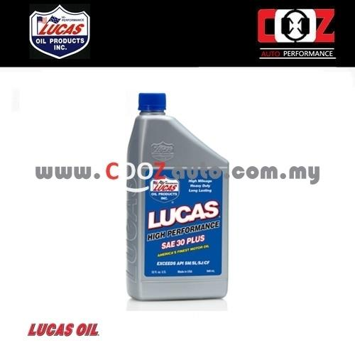 Lucas SAE 30 Plus Synthetic High Performance Racing Oil (946ml)