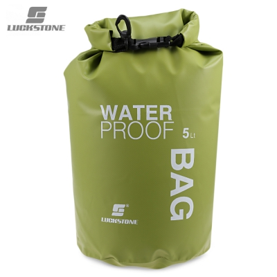 LUCKSTONE Drifting Water Resistant Ultralight 5L Dry Bag