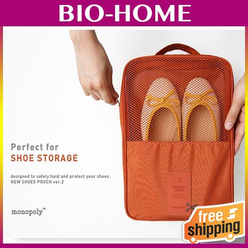 Anabelle New Shoes Organizer Monopoly Shoes Pouch Bag Travelling - Daftar Update Harga Terbaru Indonesia