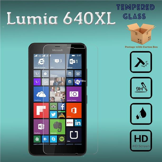Lumia 640XL Tempered Glass Screen Protector