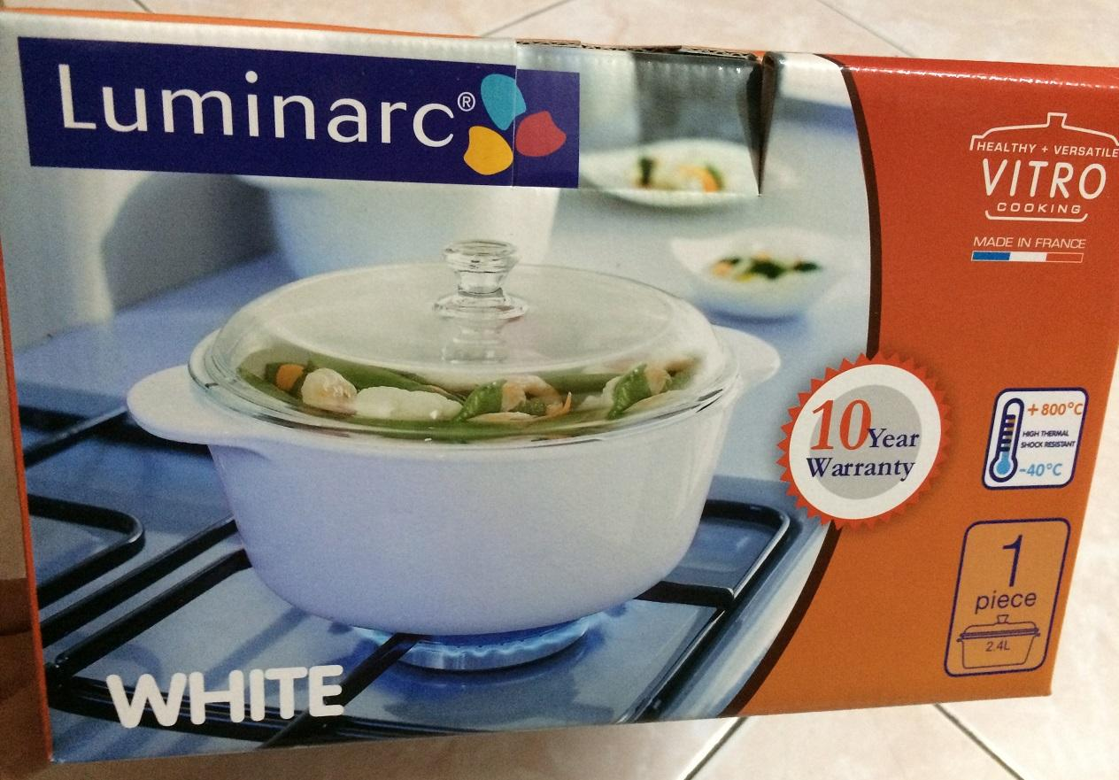 luminarc vitroline casserole 2 4l end 3 27 2016 9 58 pm