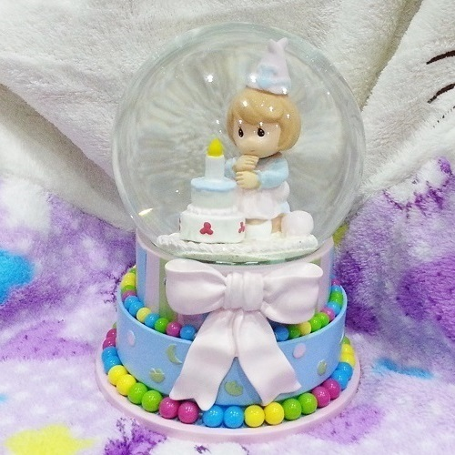 Luminous Water Globe Birthday Cake end 11122018 214 PM
