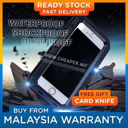 8d86819e0cf LUNATIK iPhone 5 5S SE 6 6S 7 Plus Metal Waterproof case. ‹ ›