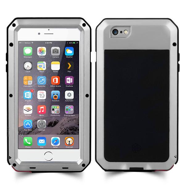 new product 8c728 d1ca4 Lunatik Taktik Extreme Protection Casing for iPhone 6 Plus - Silver