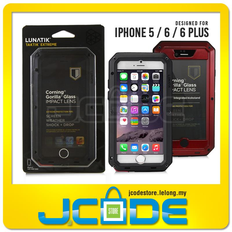 new style 918b3 c6056 Lunatik Taktik Extreme Shock Proof Metal Case-iPhone 5 / 6 / 6 Plus