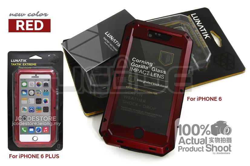 new style e8c81 83830 Lunatik Taktik Extreme Shock Proof Metal Case-iPhone 5 / 6 / 6 Plus